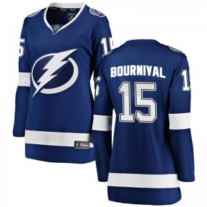 Michael Bournival Tampa Bay Lightning Women's Fanatics Branded Blue Breakaway Home Jersey