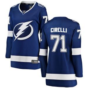 Anthony Cirelli Tampa Bay Lightning Women's Fanatics Branded Blue Breakaway Home Jersey
