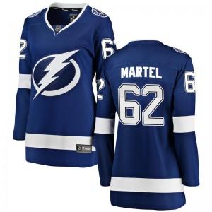 Danick Martel Tampa Bay Lightning Women's Fanatics Branded Blue Breakaway Home Jersey