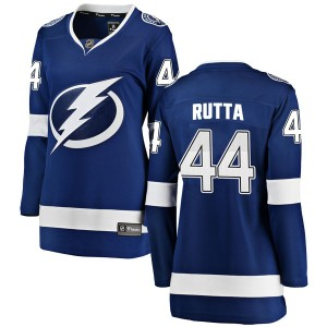 Jan Rutta Tampa Bay Lightning Women's Fanatics Branded Blue Breakaway Home Jersey