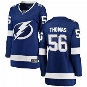 Ben Thomas Tampa Bay Lightning Women's Fanatics Branded Blue Breakaway Home Jersey