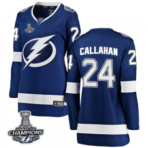 Ryan Callahan Tampa Bay Lightning Women's Fanatics Branded Blue Breakaway Home 2020 Stanley Cup Champions Jersey