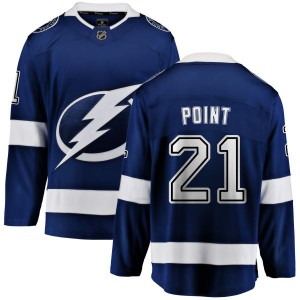 Brayden Point Tampa Bay Lightning Men's Fanatics Branded Blue Home Breakaway Jersey