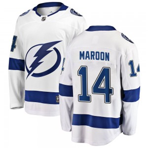 Pat Maroon Tampa Bay Lightning Men's Fanatics Branded White Breakaway Away Jersey