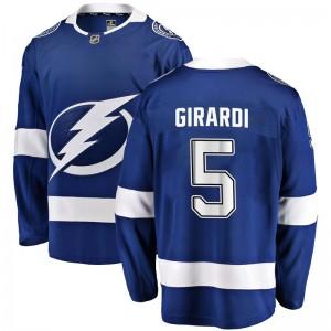 Dan Girardi Tampa Bay Lightning Men's Fanatics Branded Blue Breakaway Home Jersey