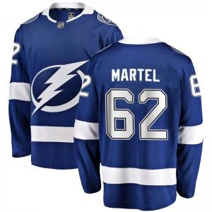 Danick Martel Tampa Bay Lightning Men's Fanatics Branded Blue Breakaway Home Jersey