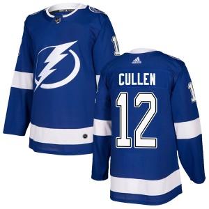 John Cullen Tampa Bay Lightning Men's Adidas Authentic Blue Home Jersey
