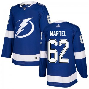 Danick Martel Tampa Bay Lightning Men's Adidas Authentic Blue Home Jersey