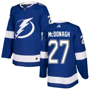 Ryan McDonagh Tampa Bay Lightning Men's Adidas Authentic Blue Home Jersey