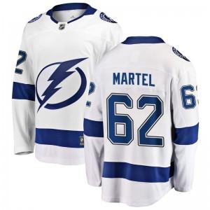 Danick Martel Tampa Bay Lightning Youth Fanatics Branded White Breakaway Away Jersey