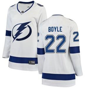 Dan Boyle Tampa Bay Lightning Women's Fanatics Branded White Breakaway Away Jersey