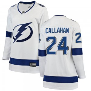 Ryan Callahan Tampa Bay Lightning Women's Fanatics Branded White Breakaway Away Jersey