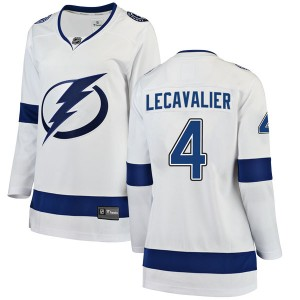 Vincent Lecavalier Tampa Bay Lightning Women's Fanatics Branded White Breakaway Away Jersey