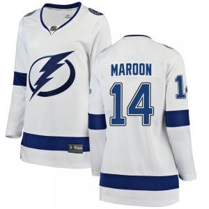 Pat Maroon Tampa Bay Lightning Women's Fanatics Branded White Breakaway Away Jersey