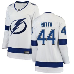 Jan Rutta Tampa Bay Lightning Women's Fanatics Branded White Breakaway Away Jersey