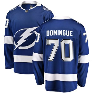 Louis Domingue Tampa Bay Lightning Youth Fanatics Branded Blue Breakaway Home Jersey
