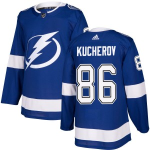 Nikita Kucherov Tampa Bay Lightning Men's Adidas Authentic Blue Jersey