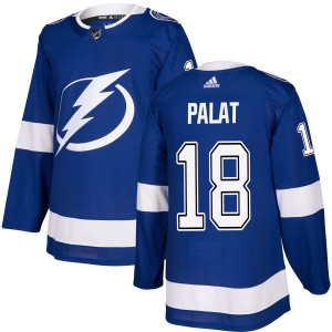 Ondrej Palat Tampa Bay Lightning Men's Adidas Authentic Blue Jersey