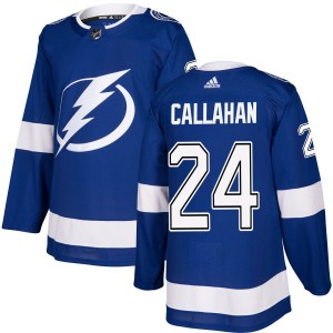 Ryan Callahan Tampa Bay Lightning Men's Adidas Authentic Blue Jersey