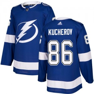 Nikita Kucherov Tampa Bay Lightning Youth Adidas Authentic Royal Blue Home Jersey