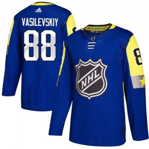 Andrei Vasilevskiy Tampa Bay Lightning Youth Adidas Authentic Royal Blue 2018 All-Star Atlantic Division Jersey