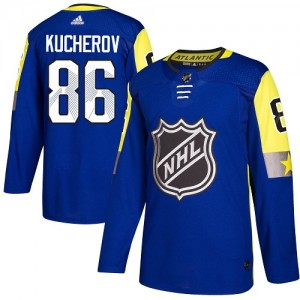 Nikita Kucherov Tampa Bay Lightning Men's Adidas Authentic Royal Blue 2018 All-Star Atlantic Division Jersey