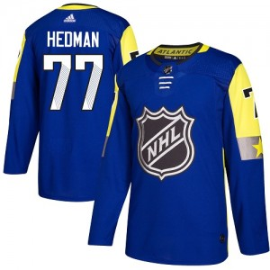 Victor Hedman Tampa Bay Lightning Youth Adidas Authentic Royal Blue 2018 All-Star Atlantic Division Jersey