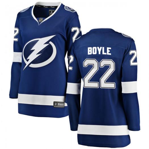 Dan Boyle Tampa Bay Lightning Women's Fanatics Branded Blue Breakaway Home Jersey