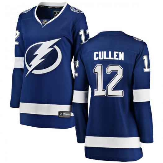John Cullen Tampa Bay Lightning Women's Fanatics Branded Blue Breakaway Home Jersey
