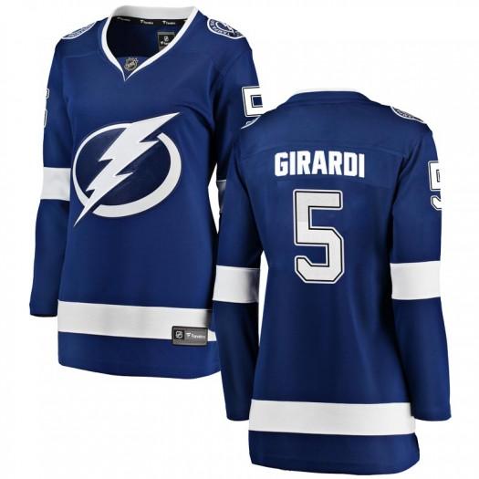 Dan Girardi Tampa Bay Lightning Women's Fanatics Branded Blue Breakaway Home Jersey