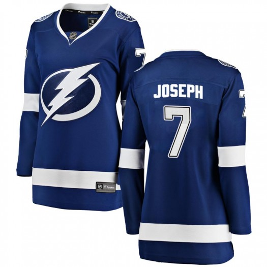 Mathieu Joseph Tampa Bay Lightning Women's Fanatics Branded Blue Breakaway Home Jersey