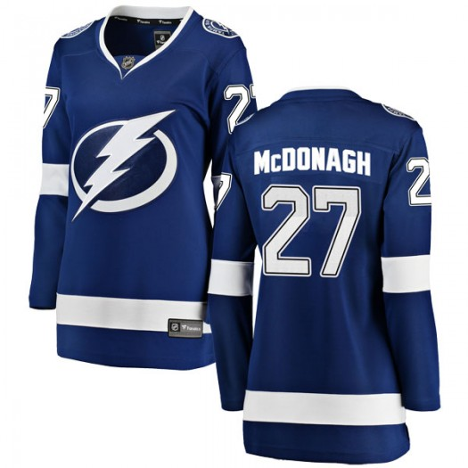 Ryan McDonagh Tampa Bay Lightning Women's Fanatics Branded Blue Breakaway Home Jersey