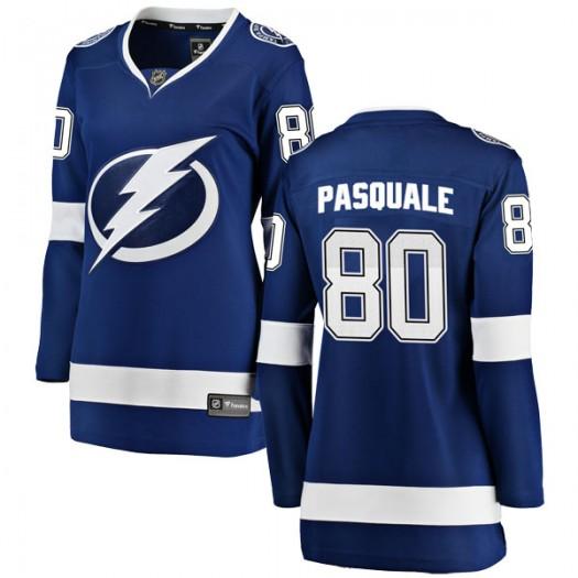 Eddie Pasquale Tampa Bay Lightning Women's Fanatics Branded Blue Breakaway Home Jersey
