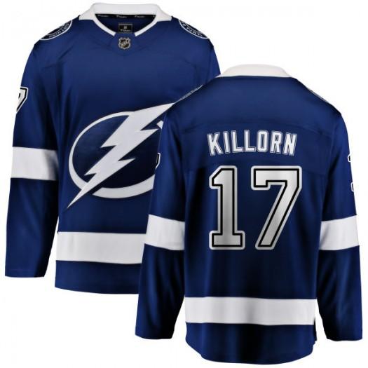Alex Killorn Tampa Bay Lightning Men's Fanatics Branded Blue Home Breakaway Jersey