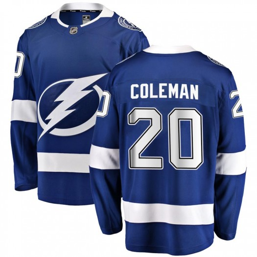 Blake Coleman Tampa Bay Lightning Men's Fanatics Branded Blue Breakaway Home Jersey