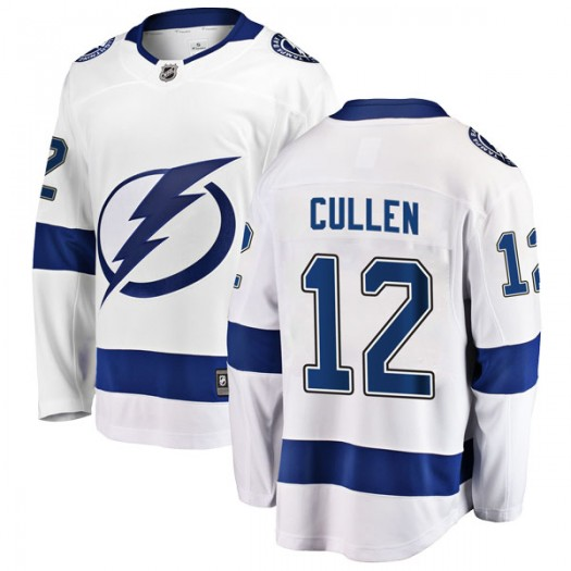 John Cullen Tampa Bay Lightning Youth Fanatics Branded White Breakaway Away Jersey