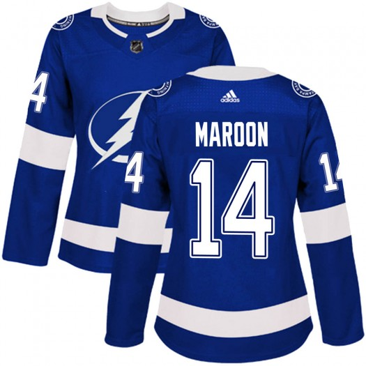 Pat Maroon Tampa Bay Lightning Women's Adidas Authentic Blue Home Jersey