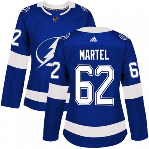 Danick Martel Tampa Bay Lightning Women's Adidas Authentic Blue Home Jersey