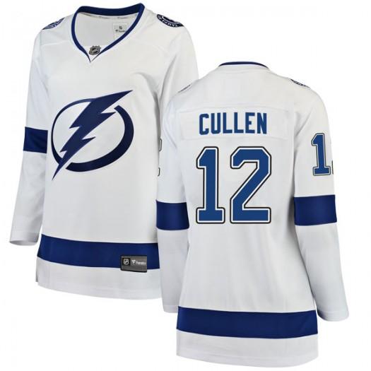 John Cullen Tampa Bay Lightning Women's Fanatics Branded White Breakaway Away Jersey