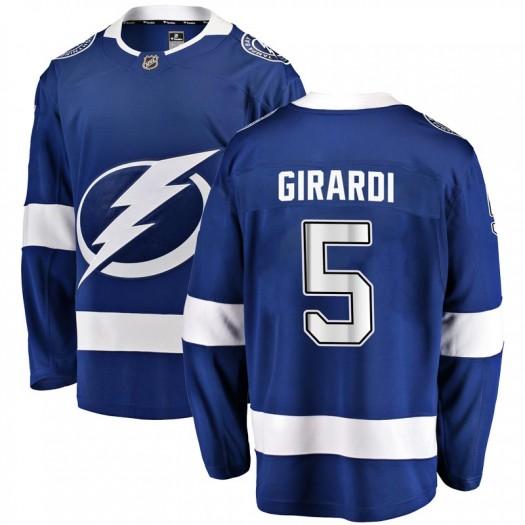 Dan Girardi Tampa Bay Lightning Youth Fanatics Branded Blue Breakaway Home Jersey