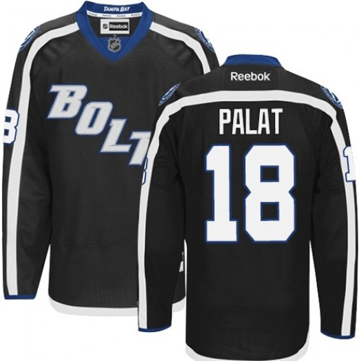 Ondrej Palat Tampa Bay Lightning Men's Reebok Premier Black New Third Jersey