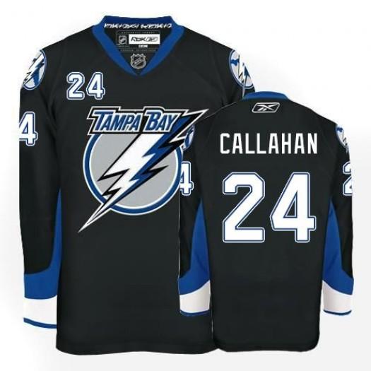 Ryan Callahan Tampa Bay Lightning Men's Reebok Authentic Black Jersey