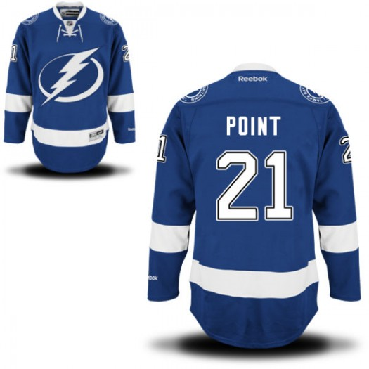Brayden Point Tampa Bay Lightning Youth Reebok Replica Blue Home Jersey