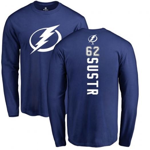 Andrej Sustr Tampa Bay Lightning Youth Adidas Premier Royal Blue Home Jersey